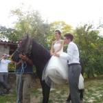 Sposa a cavallo